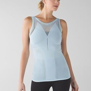 Lululemon Enlighten Tank-Size S (2/4)-Caspian Blue